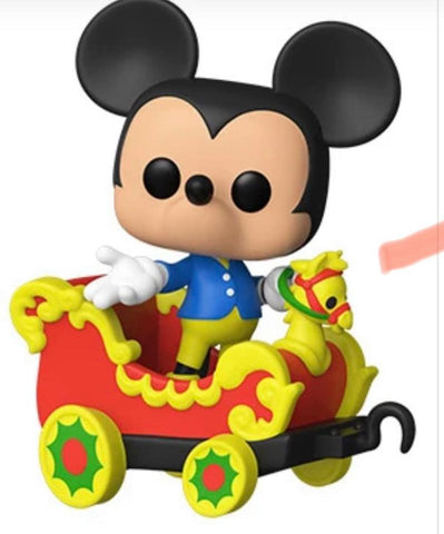 Pop! Disney 65th Anniversary - Mickey in a Car