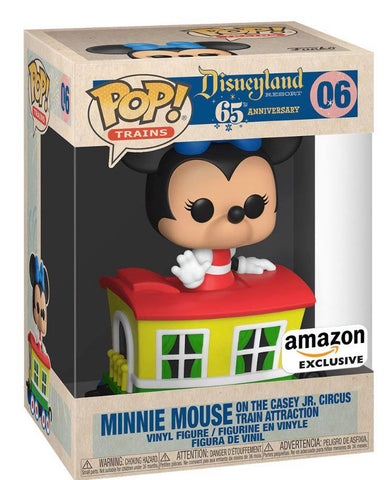 Pop! Disney 65th Anniversary - Minnie in Caboose Car