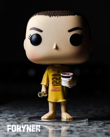 POP! Stranger Things - Eleven Burger T-Shirt (2255772024928)