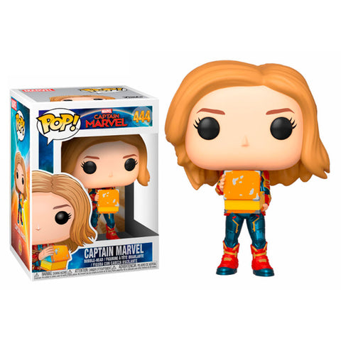 POP! Marvel Captain Marvel with Lunch Box