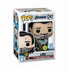 POP! Marvel Avengers Game -Loki End Game GITD