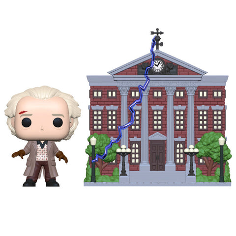 POP! Back To The Future - Doc with Clock Tower