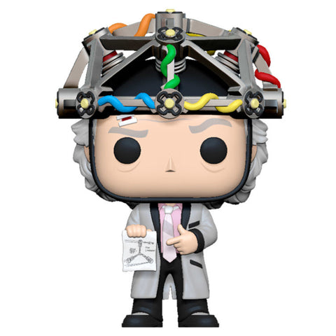 POP! Back To The Future - Doc with Helmet