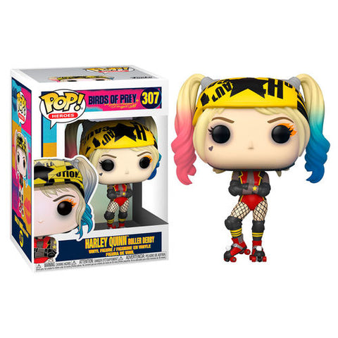 POP! DC Birds of Prey - Harley Quinn Roller Derby (4518159319136)