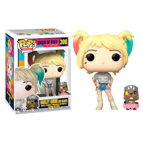 POP! DC Birds of Prey - Harley Quinn with Beaver