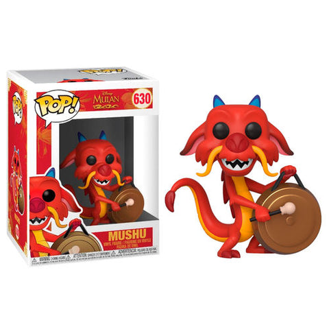 POP! Disney Mulan - Mushu with Gong (4517975261280)