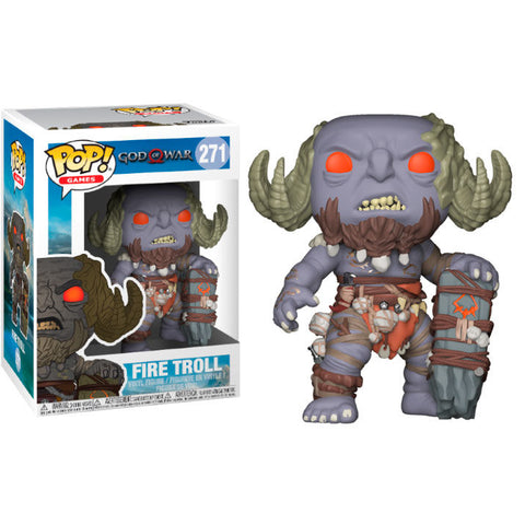 POP! God of War - Fire Troll (4507203928160)