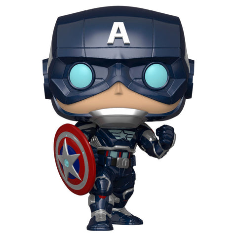 POP! Marvel Avengers Game - Captain America Stark Tech Suit
