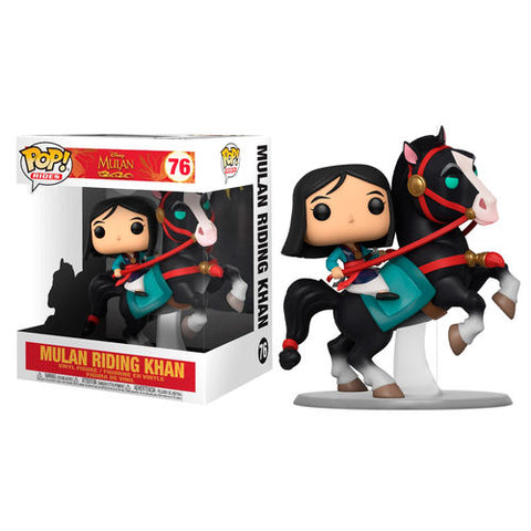 POP! Disney Mulan- Mulan on Khan (4517995905120)