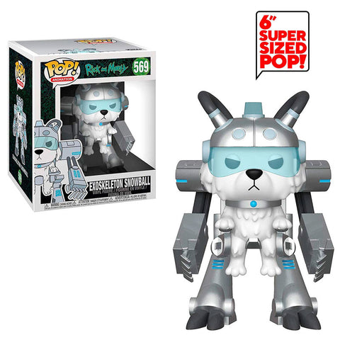 POP! Rick & Morty - Exoskeleton Snowball 15cm (4502909321312)