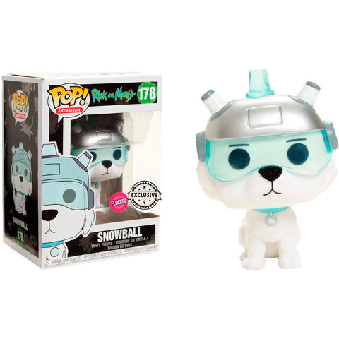 POP! Rick & Morty - Snowball Flocked Exclusive