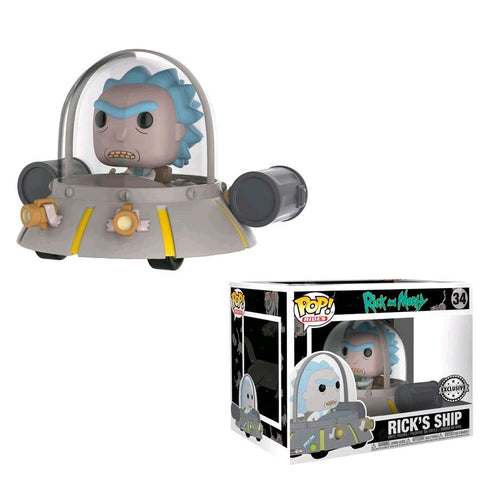 POP! Rick & Morty - Space Cruiser Exclusive (4502968303712)