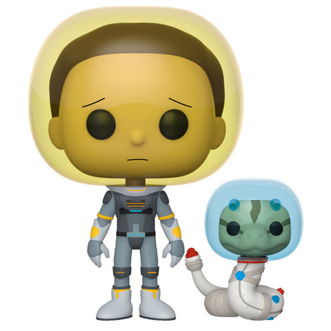 POP! Rick & Morty - Space Suit Morty with Snake