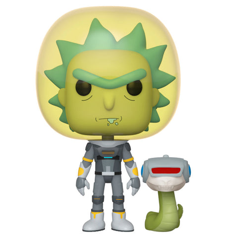 POP! Rick and Morty - Space Suit Rick with Snake