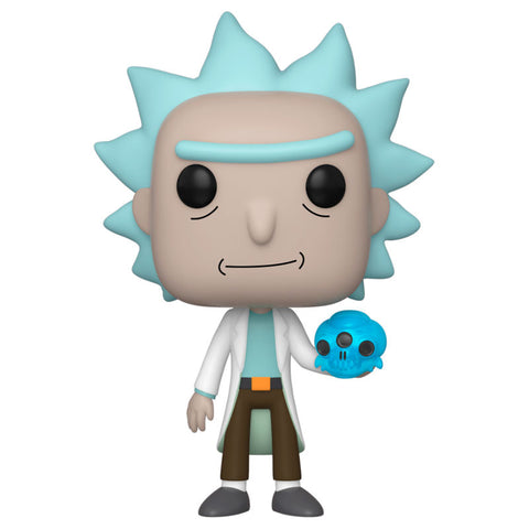 POP! Rick and Morty - Rick with Crystal Skull