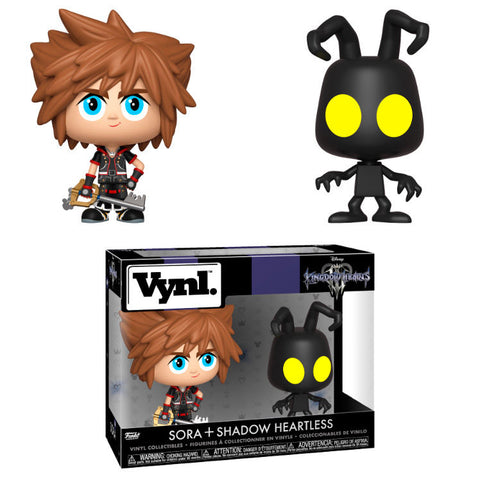 Vynl! Disney Kingdom Hearts 3 - Sora & Heartless