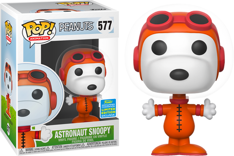 POP! Peanuts -  Astronaut Snoopy Limited Edition