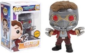Pop! Marvel Guardians of the Galaxy V2 - Star Lord chase