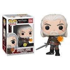 POP! The Witcher - Geralt IGNI