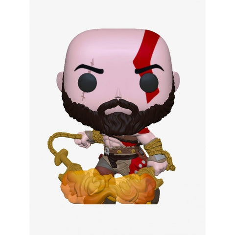 POP! God of War - Kratos com Lâminas (GITD)