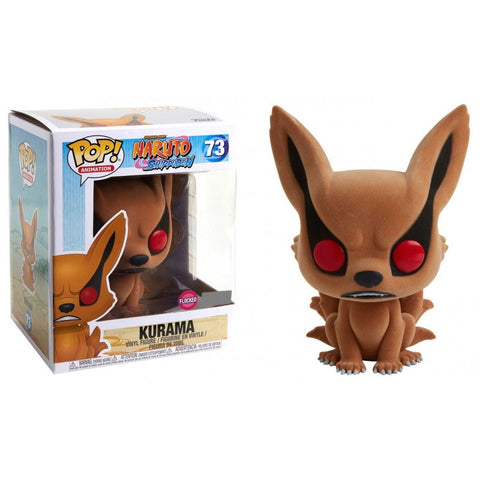 POP! Naruto Shippuden - Kurama Flocked