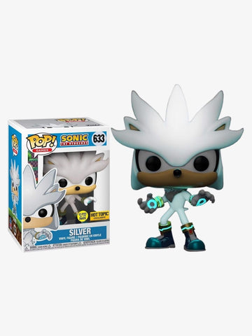 POP!Sonic 30th Anniversary - Silver GITD