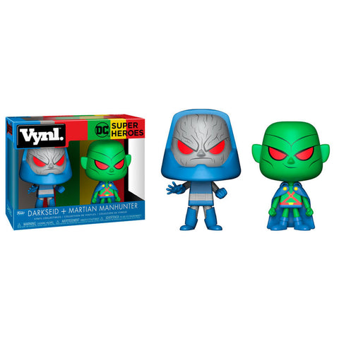 Vynl! DC Super Heroes -  Darkseid & Martian Manhunter