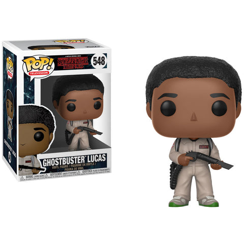 POP! Stranger Things - Ghostbuster Lucas (2255781691488)