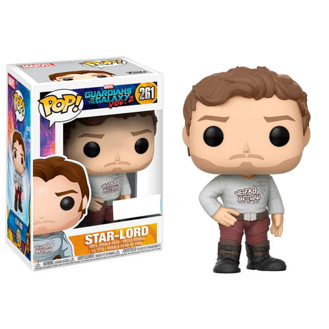 POP! Marvel Guardians of the Galaxy - Star-Lord with Gear Shift Shirt Exclusive (2256217768032)