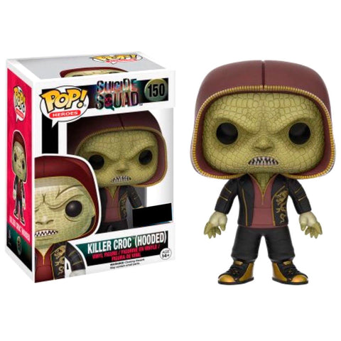 POP! DC Suicide Squad - Killer Croc Hooded Exclusive (3670362161248)