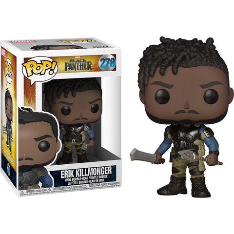 POP! Marvel Black Panther - Killmonger (2256233300064)