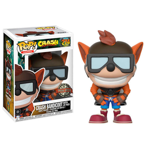 POP! Crash Bandicoot with Jet Pack Exclusive (3667754156128)