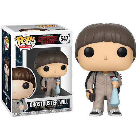 POP! Stranger Things - Ghostbuster Will (2255776120928)