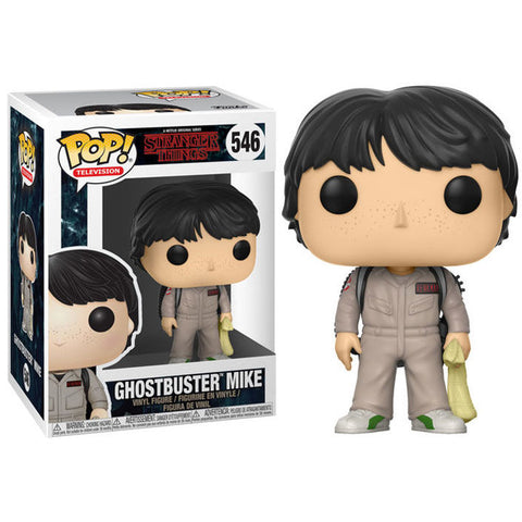 POP! Stranger Things - Ghostbuster Mike