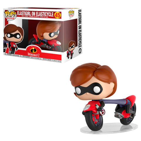 POP! Disney Pixar The Incredibles 2 - Elastigirl on Elasticycle