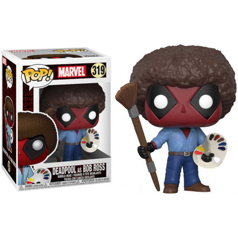 POP! Marvel Deadpool - Deadpool as Bob Ross