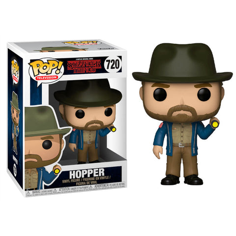 POP! Stranger Things - Hopper with Flashlight (2255770484832)