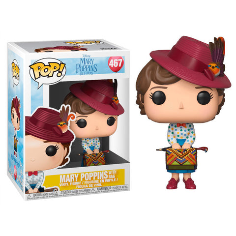 POP! Mary Poppins with Bag