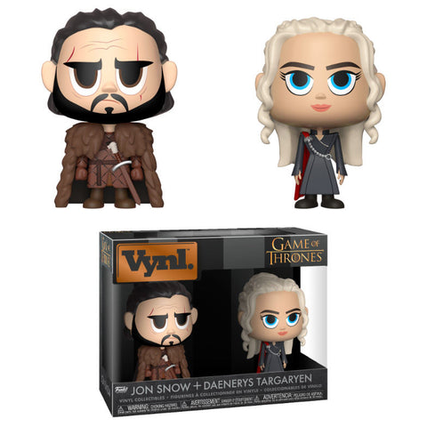 Vynl! Game of Thrones - Jon Snow & Daenerys