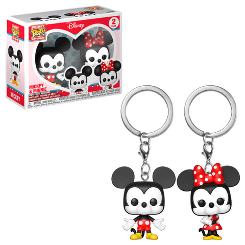 Pocket POP! Disney Mickey & Minnie (3666523914336)