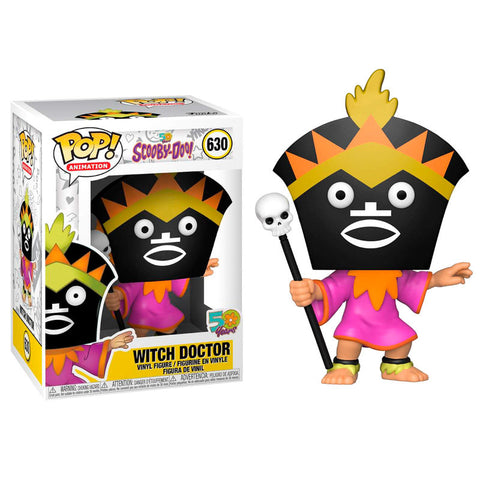 POP! Scooby Doo - Witch Doctor (4332409454688)