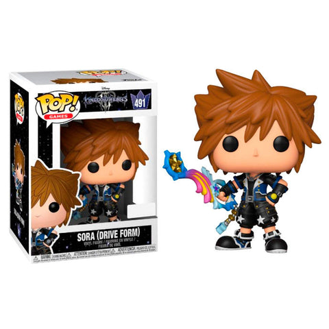 POP! Disney Kingdom Hearts - Sora (4352408125536)