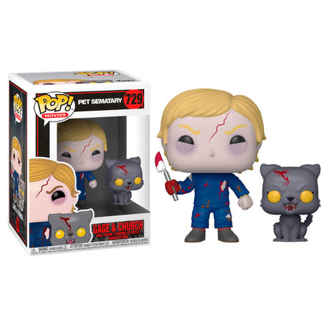 POP!  Pet Sematary - Undead Gage & Church (4111063285856)