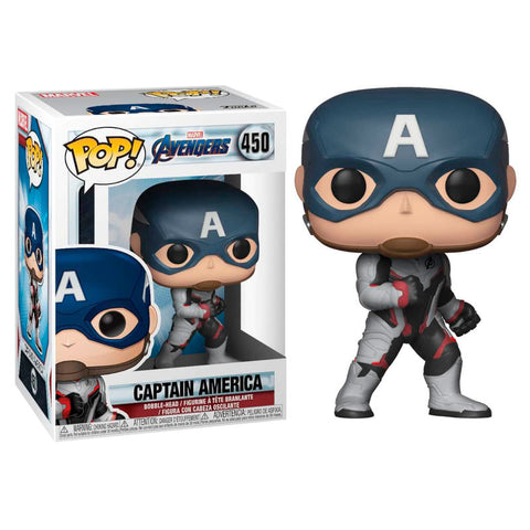 POP! Marvel Avengers Endgame - Captain America (2256104194144)