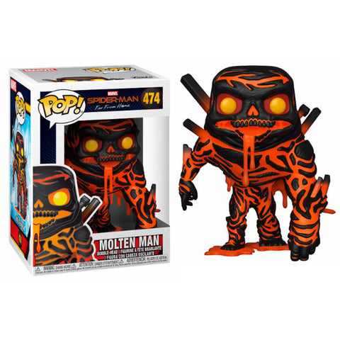 POP! Marvel Spiderman Far From Home - Molten-Man