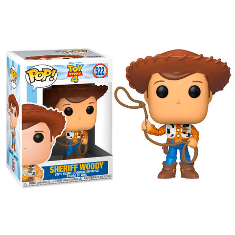 POP! Disney Pixar Toy Story 4 - Sheriff Woody