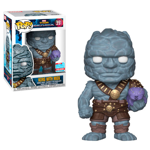 POP! Marvel Thor Ragnarok - Korg Holding Miek Exclusive (2256219930720)