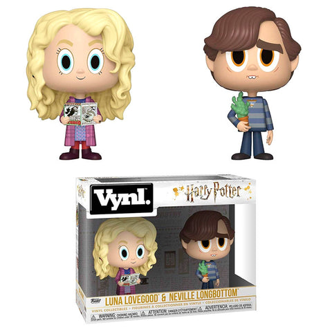 Vynl! Harry Potter -  Luna & Neville