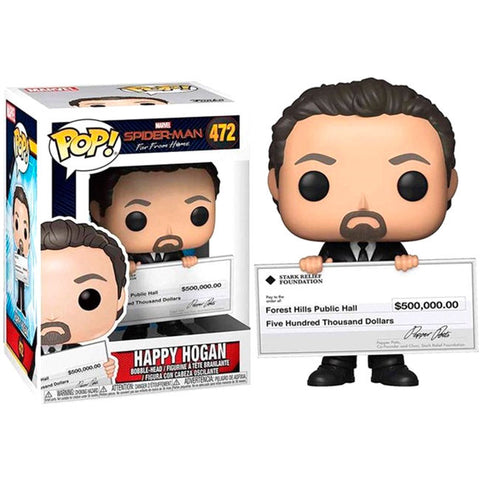 POP! Marvel Spiderman Far From Home -  Happy Hogan (4108011438176)