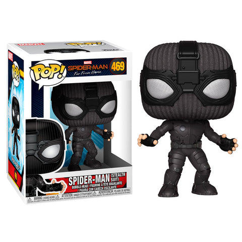POP! Marvel Spider-Man Far From Home -  Spider-Man Stealth Suit